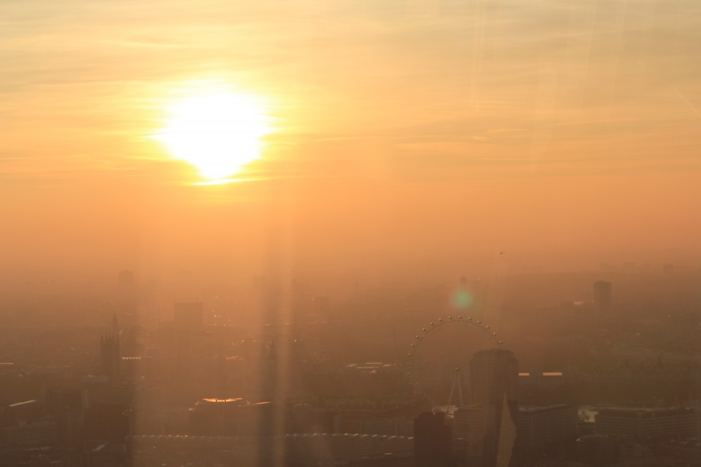 View_From_The_Shard_Sunset_London_Eye