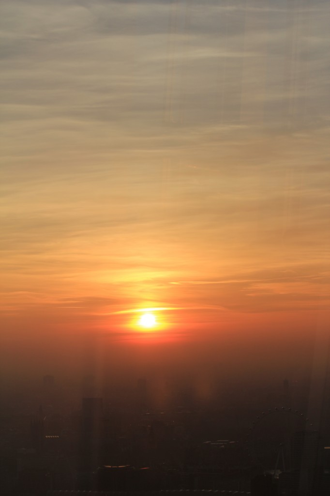 View_From_The_Shard_London_Skyline_Sunset