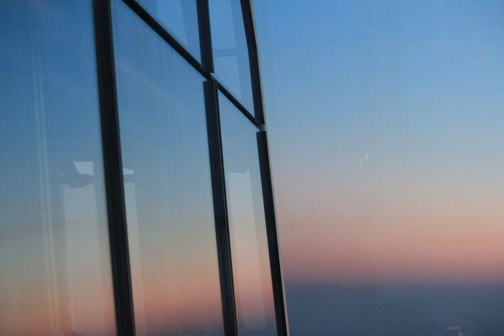 View_From_The_Shard_Sunset_Reflection
